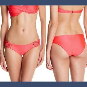 NEW Luli Fama Florcitas De Arena Bikini Bottom M
